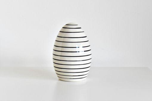 Dekoračné vajíčko Pásik