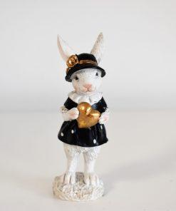 dekoračná zajačica 10cm