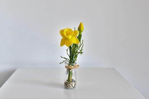 Umelý kvet v skle