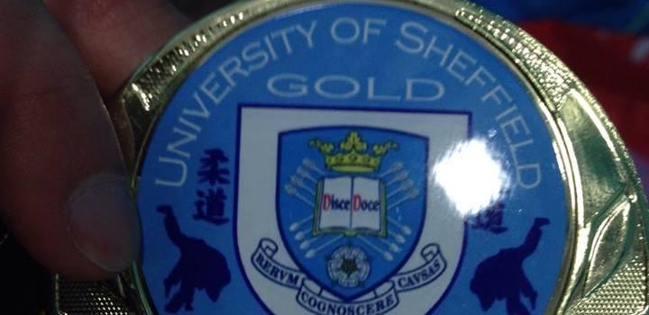 Gold in Sheffield