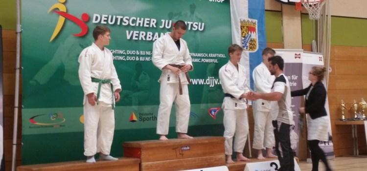 Timur Eisele ist deutscher Vizemeister der U18 im Ju Jutsu