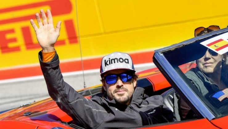 Fernando Alonso bisiklet sürerken trafik kazası geçirdi