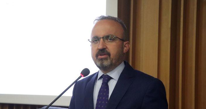 AK Partili Turan'dan 18 Mart törenlerine katılmayan muhalefet partisi liderlerine tepki
