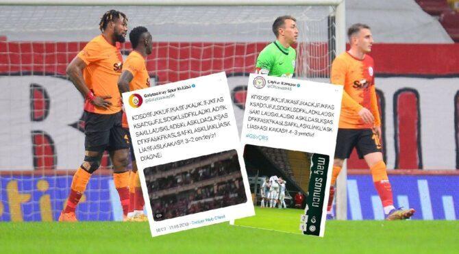 Rizespor Galatasaray'ın 2 sene önceki paylaşımını unutmadı: 'Ne oldu balonlara'