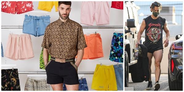 Erkeklerde Mini Şort Modası  Geri mi Geliyor