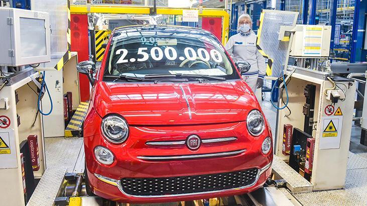 Fiat 500'den bir rekor