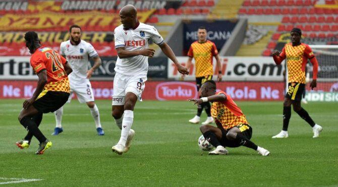 Göztepe Trabzonspor maçında galip yok… Kırmızı kartlar, direkler, heyecan dolu son anlar