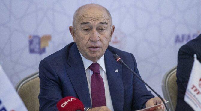 TFF Başkanı Nihat Özdemir: 'Küme düşmenin kaldırılması mümkün değil'