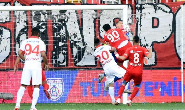 Altınordu – Yılport Samsunspor: 1-0