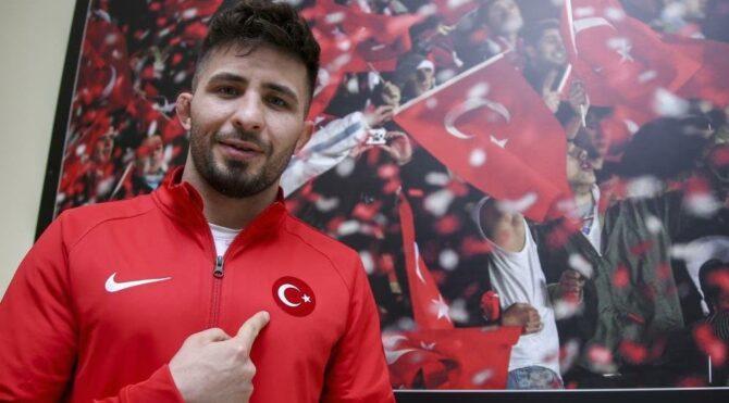 Avrupa şampiyonu Süleyman Atlı, gözünü olimpiyata çevirdi