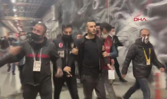 Beşiktaş – Karagümrük maçı sonrası bir menajer gözaltına alındı