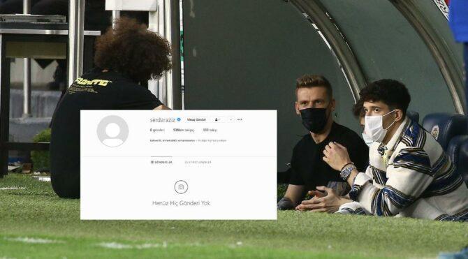 Fenerbahçe'de Serdar Aziz ve Instagram gerçeği