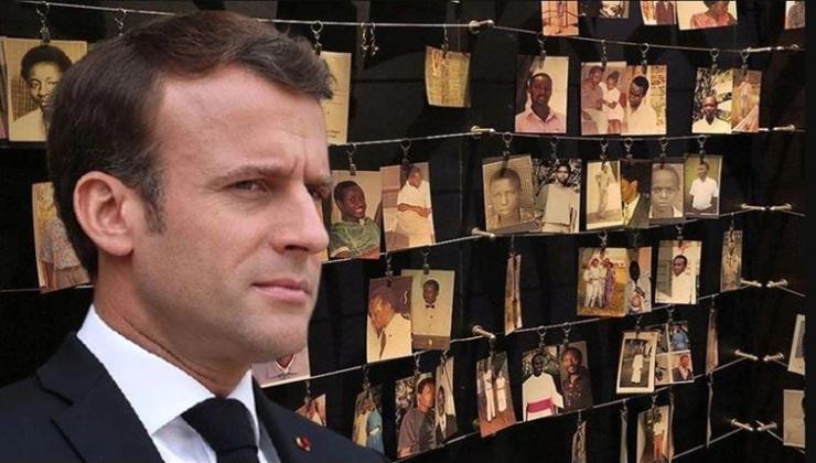 Macron, Fransa'nın soykırıma destekle suçlandığı Ruanda'yı ziyaret etti