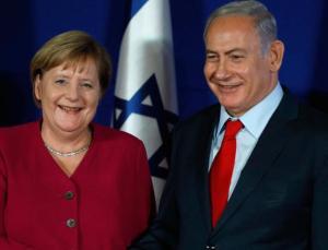 Netanyahu ile görüşen Merkel'den açıklama