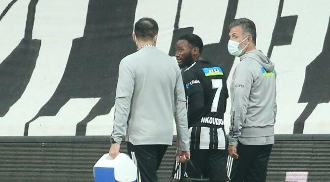Sakatlanan N'Koudou için Beşiktaş'tan açıklama
