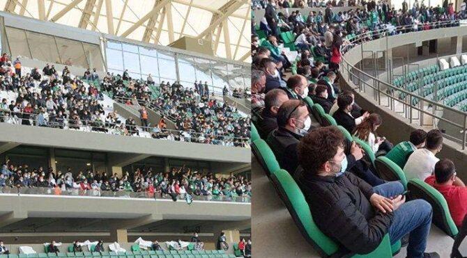 Tam kapanmada tribünleri dolduran Adana Demirspor ve Giresunspor'a komik ceza