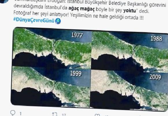 erdogan gorevi devraldigimda agac magac yoktu dedi sosyal medyada tepki yagdi 2 TaHPRCth