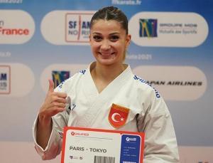 Milli karateciler Dilara Bozan ile Eray Şamdan olimpiyat kotası aldı