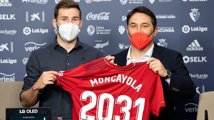 Tarihte bir ilk! Osasuna'dan Moncayola'ya 10 yıllık sözleşme