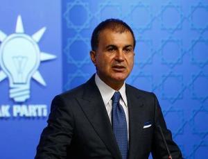 AK Parti Sözcüsü Ömer Çelik'ten devam eden yangınlarla ilgili açıklama
