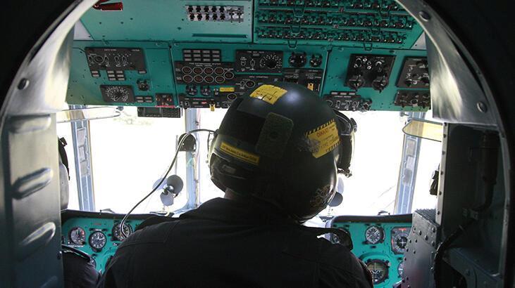 Bursa'da jandarmadan helikopterli trafik denetimi