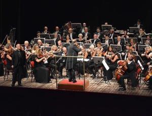 Cumhurbaşkanlığı Senfoni Orkestrası'ndan Bodrum'da Latin müziği konseri