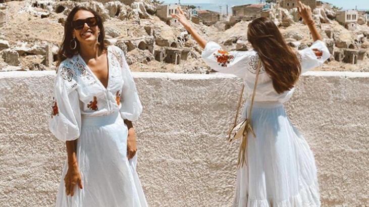 Dilan Çiçek Deniz'den Kapadokya paylaşımı