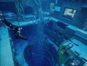 Dünyanın en derin havuzu açıldı