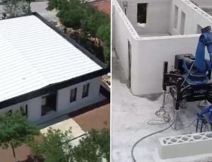 Türkiye'de ilk: Üç boyutlu yazıcı ile ev