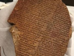 abd, 3 bin 600 yıllık gılgamış rüya tableti'ni irak'a iade edecek