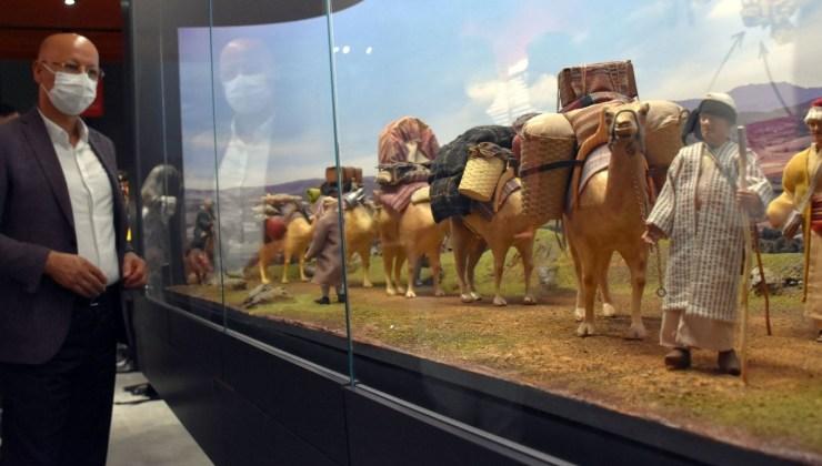 sivas kültürüne ışık tutan şehir müzesi ziyarete açıldı