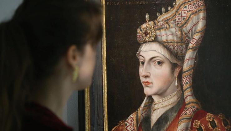 17. yüzyıldan kalma Hürrem Sultan portresi100 bin sterline satıldı
