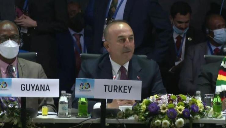 bakan çavuşoğlu, erdoğan'ın sözleri ile çağrıda bulundu