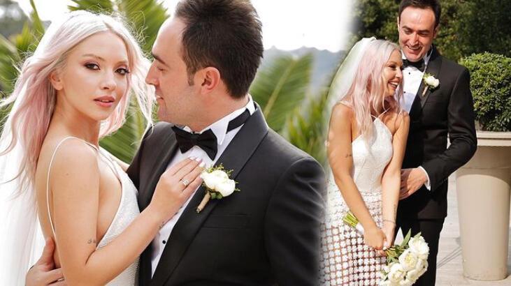 Ece Seçkin düğününden yeni fotoğrafları paylaştı