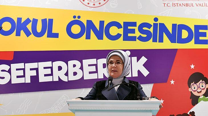 emine erdoğan: eğitime yapılan her yatırım bir ülkenin kendine yaptığı en büyük iyiliktir