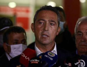 """fenerbahçe başkanı ali koç'tan flaş """"yabancı hakem"""" açıklaması"""