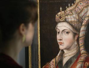 hürrem sultan portresi açık artırmada