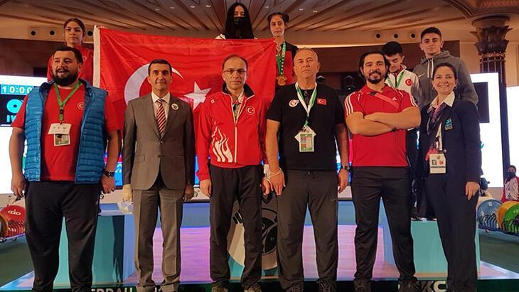 milli halterciler 22 madalya kazanarak tarihi başarıya ulaştı