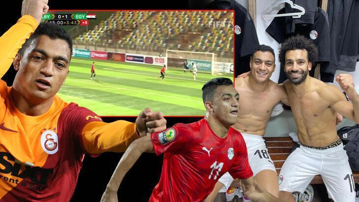 mostafa mohamed durdurulamıyor! milli takımda şov yaptı