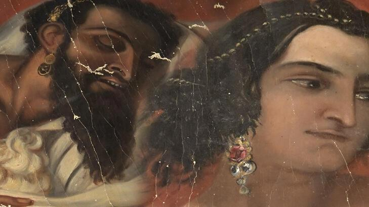 operasyonda ele geçirilen 140 yıllık yahya peygamber tablosu, orijinal çıktı!