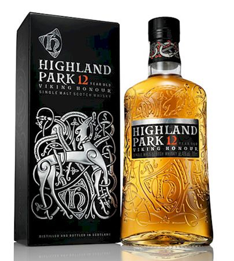 Highland Park 12 new bottle Viking Highland