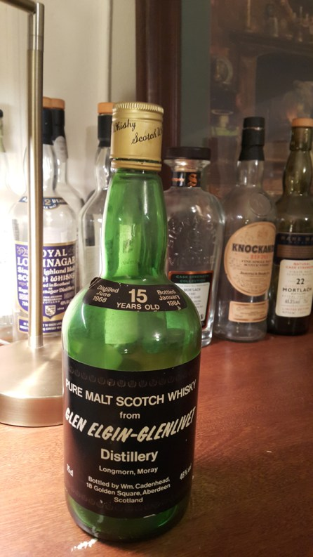 Pure Malt Cadenhead Glen Elgin Glenlivet