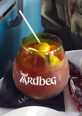 Ardbeg Day - I dubbed this the bloody skeery