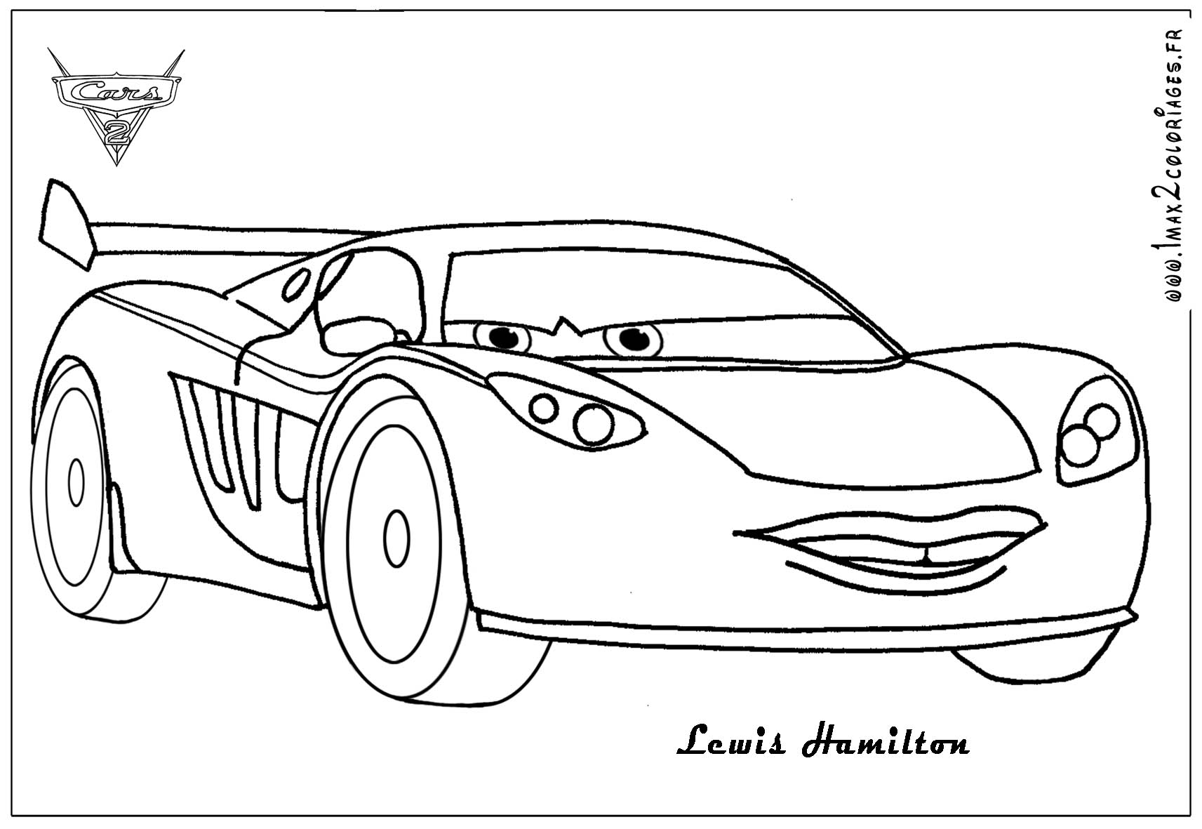 Cars 1 Coloring Pages Online