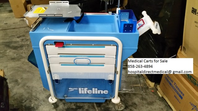 Lifeline Medical Carts operators manual