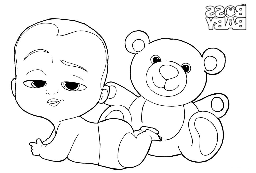 Boss Baby Coloring Pages 1nza