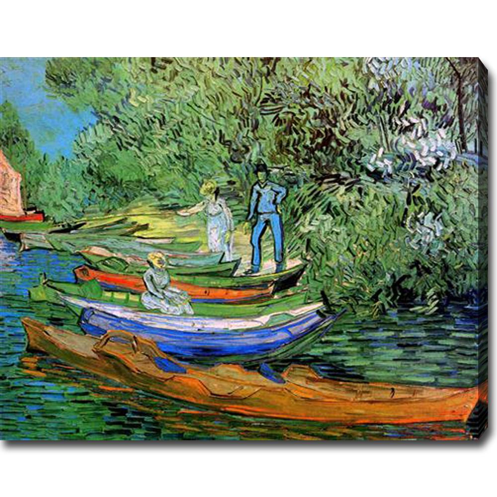 Auvers-sur-Oise-Vincent Van Gogh oil on canvas - Click Image to Close