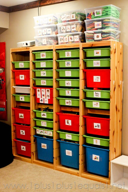 make your own toy storage