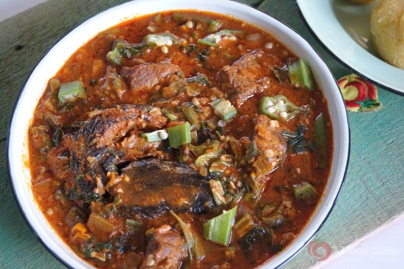How To Make Sauce Gombo Ivorian Okro Soup Top Nigerian Food Blog
