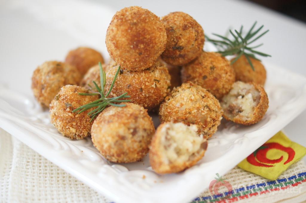 Meaty Yam Balls   Top Nigerian Food Blog